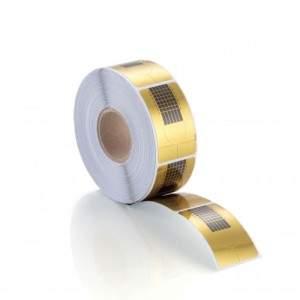 Rotolo Cartine Oro 500 pz Nail Form 00000000000Teriam