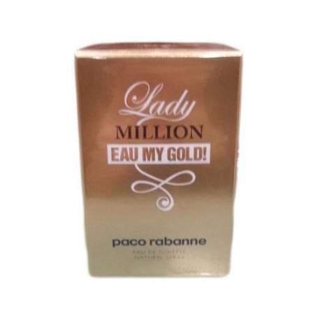 PACO RABANNE LADY MILLION EAU MY GOLD! EDT 80ML VAPO