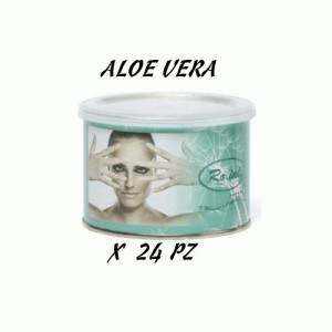 RO.IAL. CERA IN BARATTOLO LIPOSOLUBILE ALOE VERA 400 ML 24 PZ 9874RO.IAL