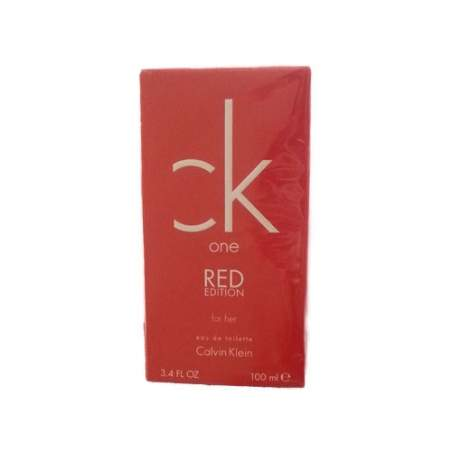 CK ONE RED EDITION FOR HER EDT 100ML 3607342771215Calvin Klein